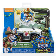 Spin Master Paw Patrol Trackers Jungle Cruiser