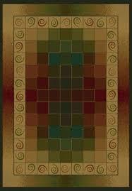 united weavers genesis montage lodge area rug 5 3