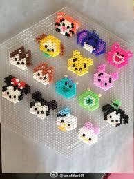 Mini Perler Bead Patterns Adorable Minnie Tsum Tsum Perler Buscar Con Google Perler Beads Pinte