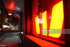 anz melbourne office. Signage For Westpac Banking Corp. Is Illuminated At Night In A Window Of One Anz Melbourne Office