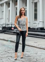sydne style shows what to wear with leather leggings for fall outfit ideas