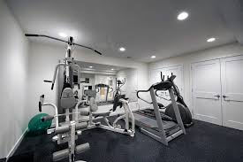 home gym lighting. basement gym ideas home contemporary with remodeling design lighting