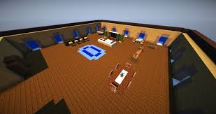 Minecraft Living Room Furniture Minecraft Vanilla Livingroom Furniture Map 01