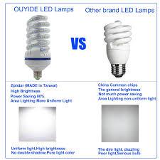Spiral Led Light Ouyide 180 Watt Equivalent Spiral A21 Led Bulbs 20w Daylight 5000k Led Corn Light Bulbs Flood Light Bulb E26 E27 Base Ul Listed