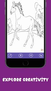 horse coloring pages free horse
