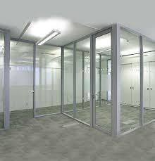 aluminum frame glass cabinets modern design