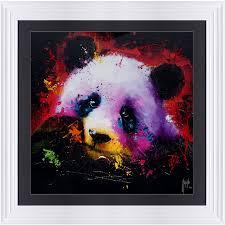 skull wall art loading zoom on panda wall art uk with panda wall art urban baroque