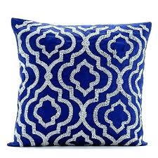 royal blue decorative pillows. Plain Decorative Luxury Royal Blue Pillows Pillow Faux Fur  Contemporary   On Royal Blue Decorative Pillows B