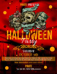 Halloween Dance Flyer Templates Red Halloween Party Flyer Template Postermywall