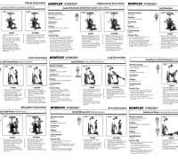workout routine on bowflex images