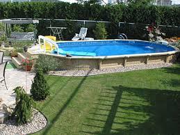 semi inground pool ideas. Semi Inground Pools - Oval Gallery | JMD |Quality Design For In OttawaJMD Ottawa Pool Ideas R