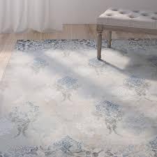 benoit slate blue area rug reviews joss main