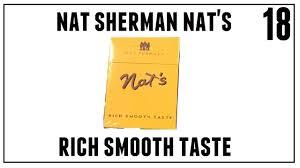Nat Sherman Lights Nat Shermans Nats Rich Smooth Taste Cigarette Review Episode 18
