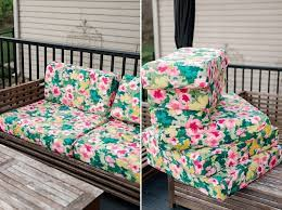 how to re cover outdoor cushions a
