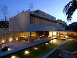 Modern Concrete House Plans Modern White Concrete House Design Best Invention Exterior Paint