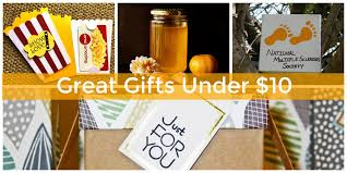 gift exchange gifts under 10 that feel