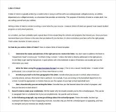 13 Word Letter Of Intent Templates Free Download Free