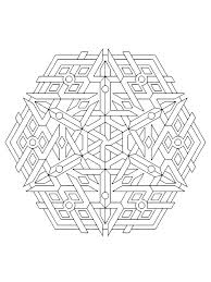Free Geometric Coloring Pages For Adults Geometric Coloring Pages