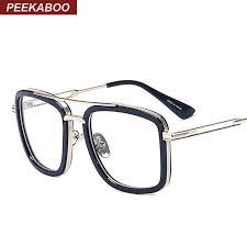 whole kaboo brand designer big square glasses frames for men clear metal luxury fashion large frame eyeglasses frame men