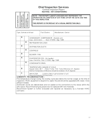 Field Inspection Report Template Of Sample And Safety Audit Form