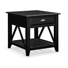 full size of end tables unique end tables with drawers elegant black finished color made