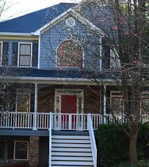 blue victoria red trim painter canton ga kenneth axt painting