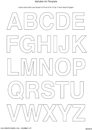 Letter Stencils To Print And Cut Out Block Letters To Print Rome Fontanacountryinn Com
