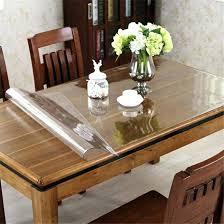 plastic table top protector round plexiglass table top protector covers dining room glass