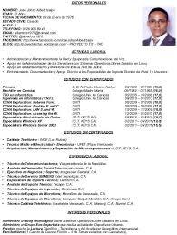 Formato De Sintesis Curricular - Tier.brianhenry.co