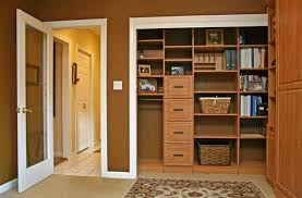 office in a closet. Modern Decoration Office Closet Shelving Gorgeous Library Home System In A R