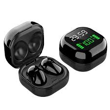 <b>S6 Plus TWS</b> Bt5.1 Earphones Wireless Headphones Time Power ...