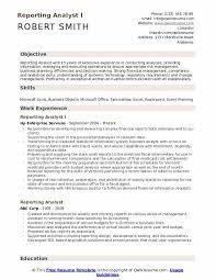 Analytical Skills Resumes Reporting Analyst Resume Samples Qwikresume