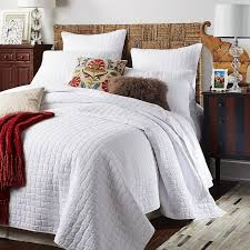 Weston White Quilt & Sham   Bedrooms, Queen quilt and Pillows & Weston White Quilt & Sham Adamdwight.com