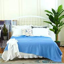 Amazon.com: Oasis Luxurious Bed Throws Bed Blankets Summer ...