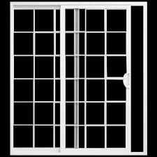 glass vinyl sliding patio door