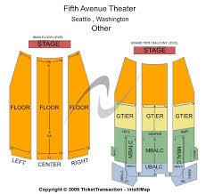 Cheap 5th Avenue Theatre Tickets