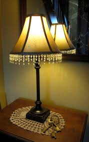 beaded fringe glass lamp shades