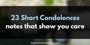 Short Condolence Quotes Extraordinary These Short Condolences Notes Are Special And Unique