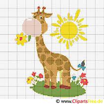 Unter google in kreuzstich kreativ, dort gibt es kostenlose monatsbilder. 35 Tiere Stickmuster Cliparts Bilder Grafiken Kostenlos Gif Png Jpg
