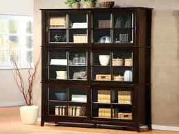 bookcase sliding glass doors door book shelf bookshelf throughout tips rectangle black wooden comes with bookcases decor altra furn