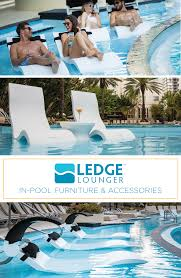 ledge lounger in pool furniture is designed for in water use on your pool s tanning