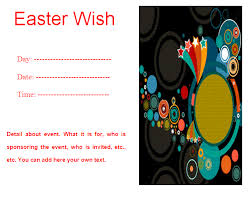 Easter Flyer Template | Free Word Templates