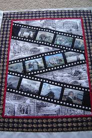 Best 25+ Photo quilts ideas on Pinterest | Photo blanket, DIY ... & What a cute idea for a memory #quilt - filmstrips with photo blocks across  the Adamdwight.com