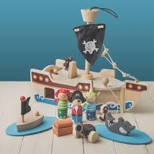 pirate ship playset play sea boat ocean treasure indoor toy