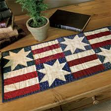 Table Runner Patterns Classy Simple Stars Bars Patriotic Table Runner Quilt Pattern The