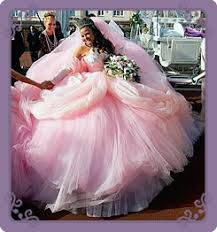 big poufy tulle dresses a very pmp wedding