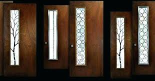 entry door glass inserts and frames awe doors home ideas 17