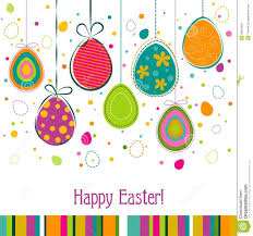 Easter Greeting Card Template Template Easter Greeting Card Vector Stock Vector Illustration of 1