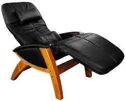 svago sv410 benessere chair black leather honey wood zero gravity recliner