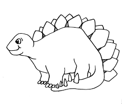 Small Picture Printable 38 Dinosaur Coloring Pages 4878 Cartoon Dinosaur